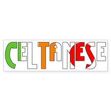 Celtanese Bumper Bumper Sticker