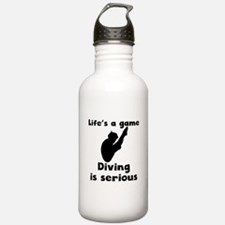 Diving Is Serious Water Bottle
