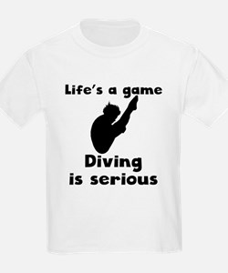 Diving Is Serious T-Shirt
