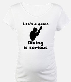 Diving Is Serious Shirt