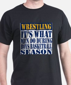 Wrestler basketball T-Shirt