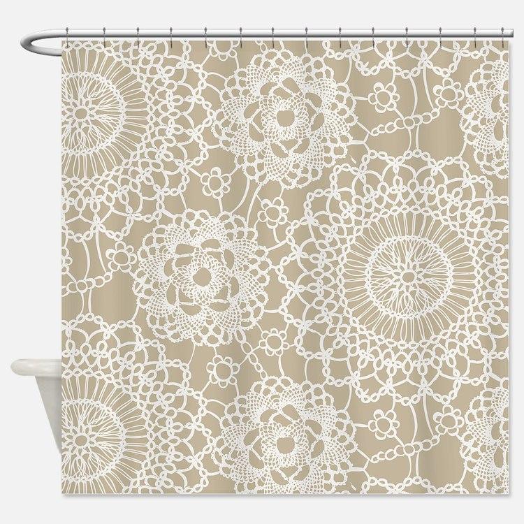 Crochet Pattern Shower Curtains