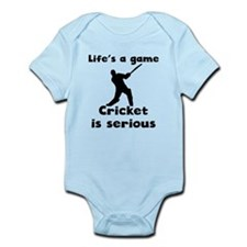 Cricket Is Serious Body Suit