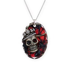 Skull and Spiders Necklace
