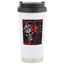 Skull and Spiders Travel Mug