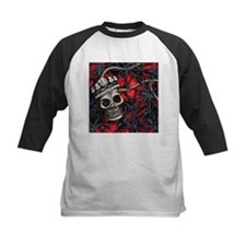 Skull and Spiders Baseball Jersey