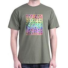 Rainbow All Unicorns T-Shirt