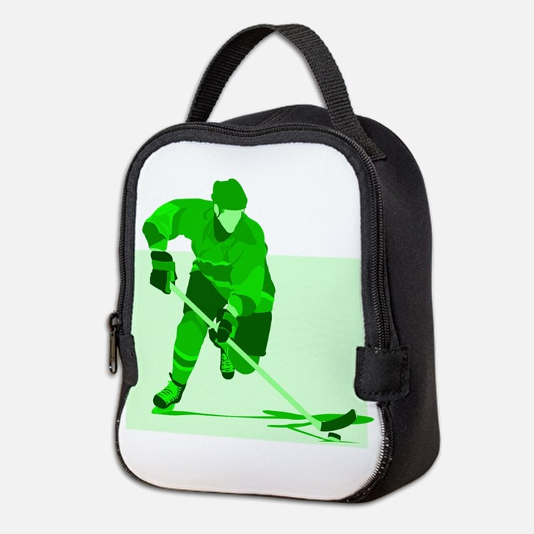 hockey Neoprene Lunch Bag