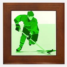hockey Framed Tile