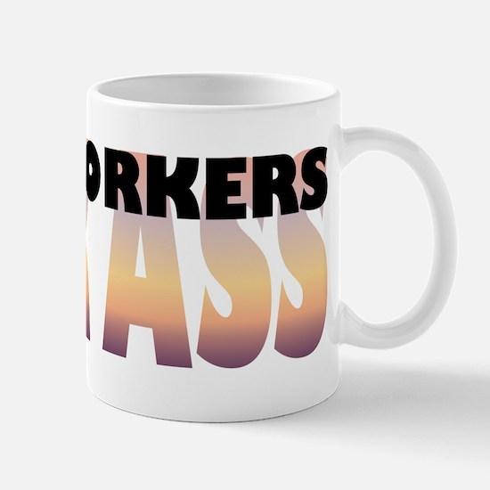 Woodworkers Kick Ass Mug