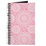 Pink Lace Doily Journal
