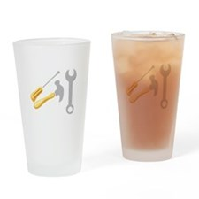 Workmans Tools Drinking Glass