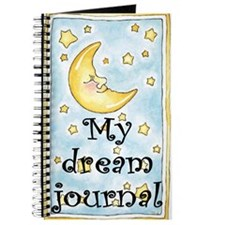 Dream Journal - moon & stars