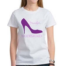 Purple Bridesmaid Tee