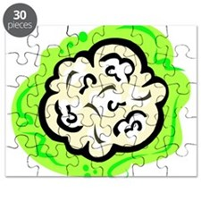 cauliflower on bold green background.PNG Puzzle