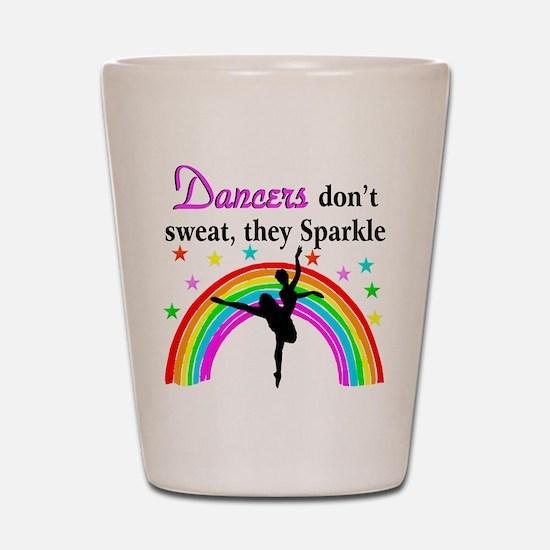 SPARKLING DANCER Shot Glass