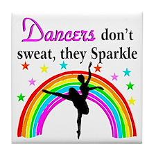 SPARKLING DANCER Tile Coaster