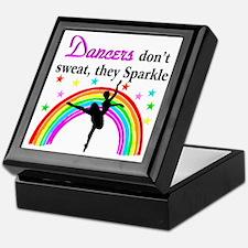 SPARKLING DANCER Keepsake Box