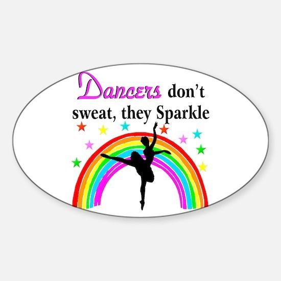 SPARKLING DANCER Sticker (Oval)