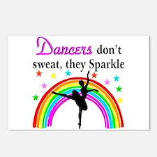SPARKLING DANCER Postcards (Package of 8)