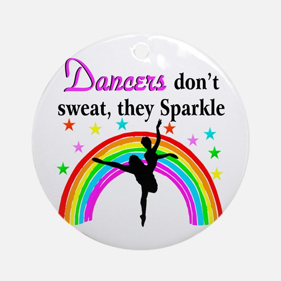 SPARKLING DANCER Ornament (Round)