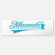 Minnesota State of Mine Bumper Bumper Bumper Sticker