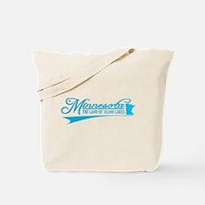 Minnesota State of Mine Tote Bag