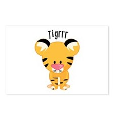 Tigrrr Postcards (Package of 8)