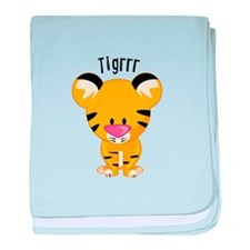 Tigrrr baby blanket