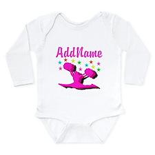 CHEERLEADING STAR Long Sleeve Infant Bodysuit