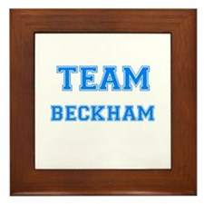 TEAM BECKHAM Framed Tile
