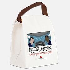 rogerroger.png Canvas Lunch Bag