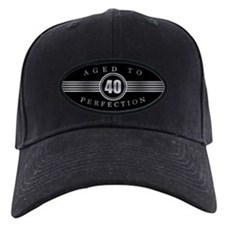 40th Aged To Perfection Baseball Cap