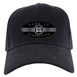 65th birthday men Black Hat