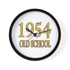 1954 Old School Wall Clock