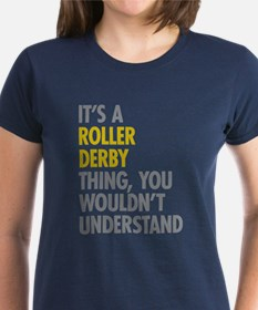 Roller Derby Thing Tee
