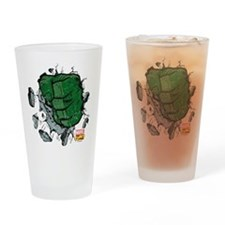 Hulk Fist Drinking Glass