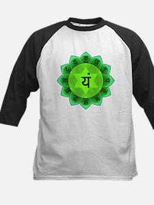 Green Anahata Heart Chakra Baseball Jersey