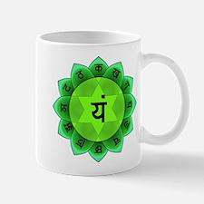 Green Anahata Heart Chakra Mugs