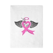 Cute Cancer awareness Twin Duvet
