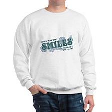 When the DM Smiles Sweatshirt