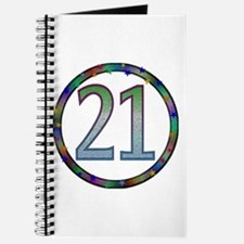 21st Birthday Posters and Cards Journal