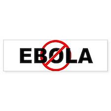Stop Ebola Bumper Sticker