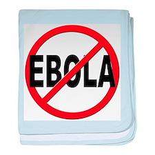 Stop Ebola baby blanket