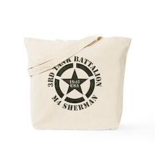Sherman Tank M4 Tote Bag