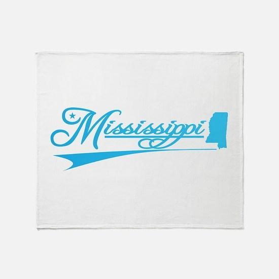 Mississippi State of Mine Throw Blanket