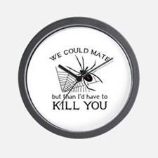 We Could Mate Wall Clock