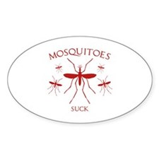 Mosquitoes Suck Decal