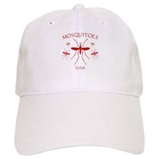 Mosquitoes Suck Baseball Baseball Cap