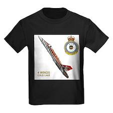 Canada's Air Force 4 Wing Ash Grey T-Shirt